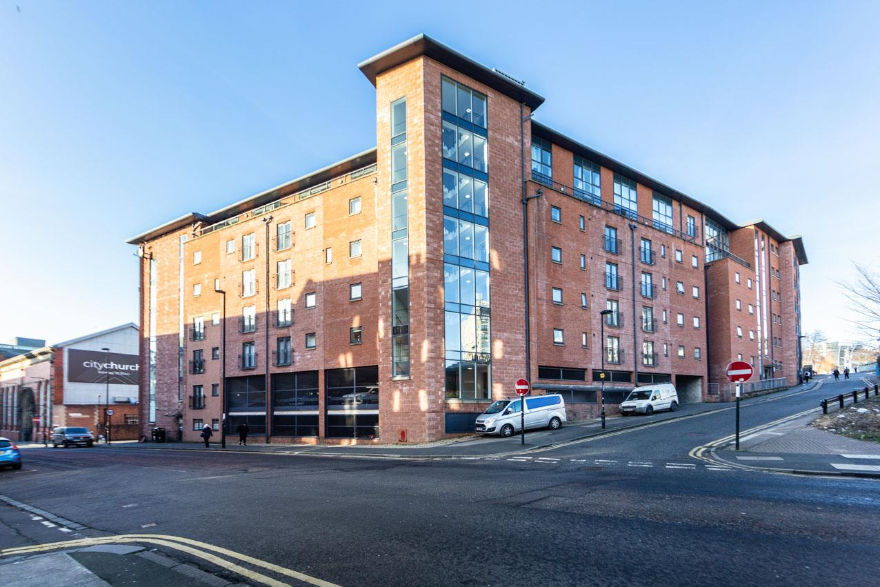 Rialto Building Newcastle Upon Tyne, 4 Bedrooms  Apartment - purpose built ,For Sale